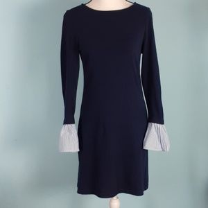 Beach lunch Lounge cozy fitted dress Bell sleeves